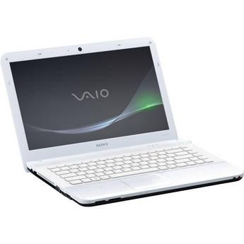 "Sony VAIO EA VPCEA33FX/W 14"" Notebook Computer (Coconut White)"