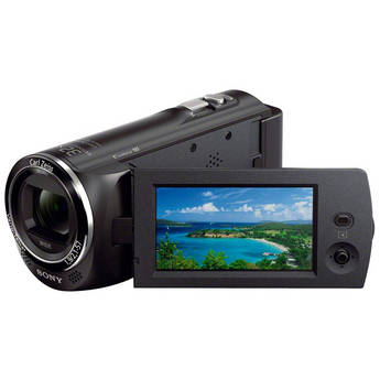 Sony HDR-CX220 HD Handycam Camcorder (Black)