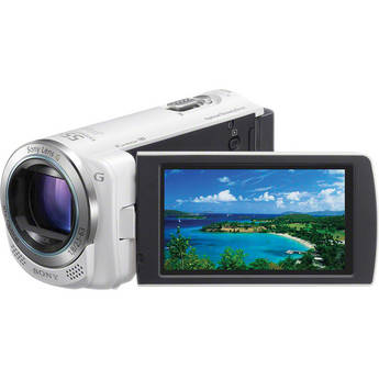 Sony HDR-CX260E High Definition Handycam Camcorder (PAL) (White)