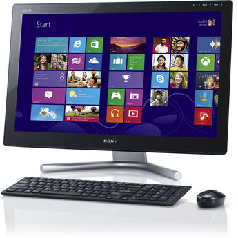 """Sony VAIO L Series 24"""" Multi-Touch All-in-One Desktop Computer (Black)"""