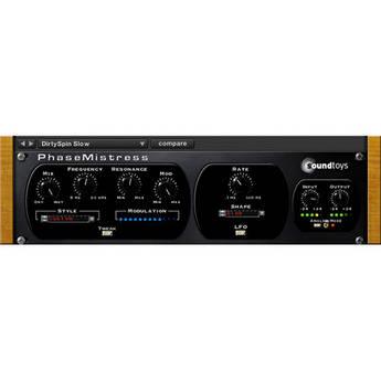 SoundToys PhaseMistress - Virtual Analog Phaser (TDM)