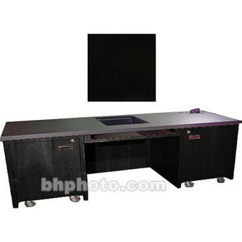 Sound-Craft Systems 2-Bay Custom Presentation Desk (Black Oak)