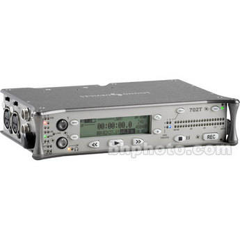 Sound Devices 702T - High-Resolution Compact Flash Field Recorder with Time Code