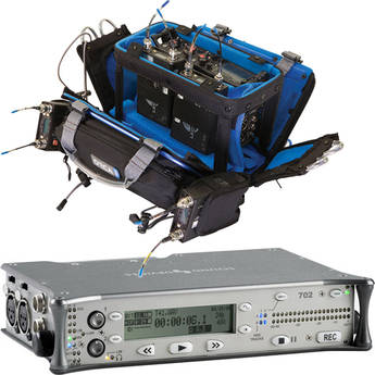 Sound Devices Sound Devices 702 Field Recorder and Porta Brace AR-7 Case Bundle