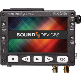"""Video Devices PIX 240i 5"""" Portable Video Recorder & Monitor"""