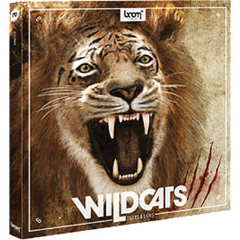 Sound Ideas Wildcats - Lions & Tigers Sound Effects Library Bundle (DVD)