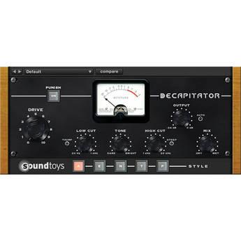 SoundToys Decapitator - Analog Saturation Modeler (Native)
