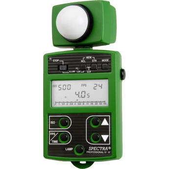 Spectra Cine Professional IV-A Digital Exposure Meter (Green)