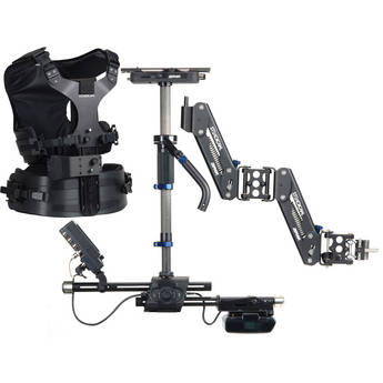 Steadicam Zephyr Camera Stabilizer with HD Monitor (V-Lock Battery Mount, Standard Vest)