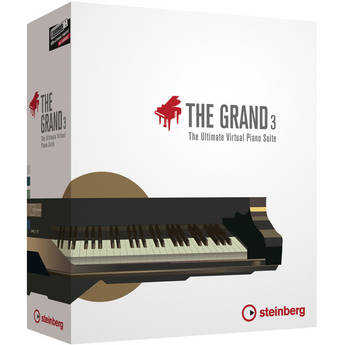 Steinberg The Grand 3 - The Ultimate Virtual Piano Suite Educational Edition