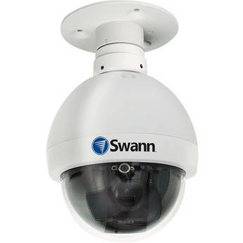 Swann PRO-751 Super High Resolution PTZ Dome Camera (12x Optical Zoom)