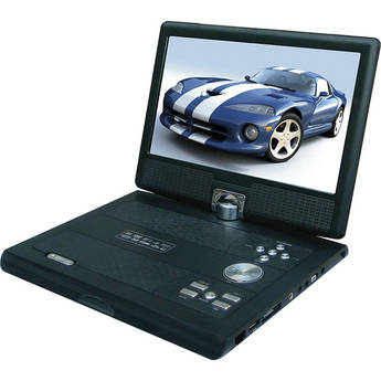 "Swari SPD-10B 10"" Portable DVD Player (Black)"