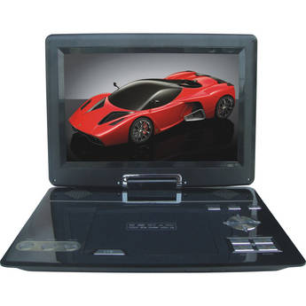 "Swari SPD-12B 12"" Portable DVD Player (Black)"