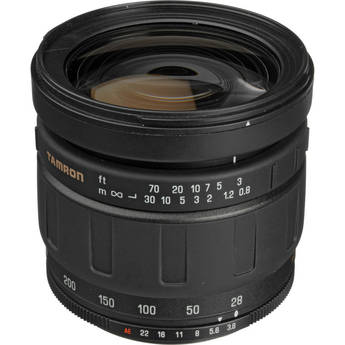Tamron 28-200mm f/3.8-5.6 LD Aspherical IF Super MF Adaptall Lens