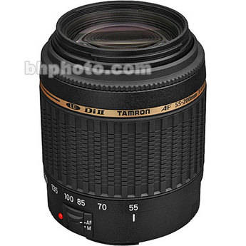 Tamron 55-200mm f/4-5.6 Di-II LD Lens for Canon Digital