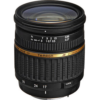Tamron 17-50mm f/2.8 XR Di-II LD Aspherical [IF] Autofocus Lens for Pentax Digital Cameras