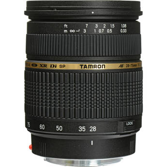 Tamron A09  SP AF 28-75mm f/2.8 XR Di  LD Aspherical (IF) Macro Zoom