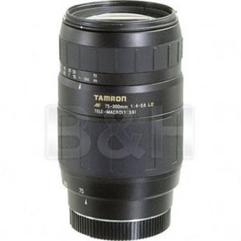 Tamron 75-300mm f/4-5.6 LD Macro Autofocus Lens for Sony Alpha & Minolta Maxxum