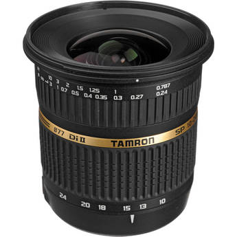 Tamron SP AF 10-24mm f / 3.5-4.5 DI II Zoom Lens For Sony DSLR Cameras