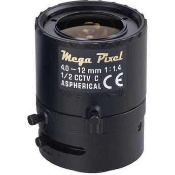 Tamron M12VM412 CCTV Lens (4-12mm, f/1.4)