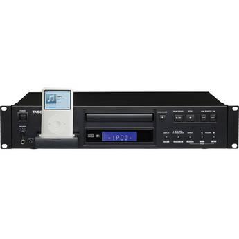 Tascam CD-200i Rackmount CD Player with iPod Dock