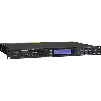 Tascam CD-500B Single-Rackspace CD Player (Balanced)