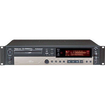 Tascam CD-RW900SL - Rack Mount Slot-Loading CD Recorder with MP3 Playback