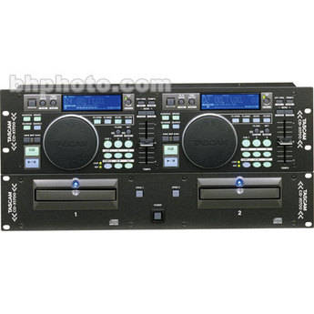 Tascam CDX1700 - Rackmountable CD/MP3 Player for DJ's
