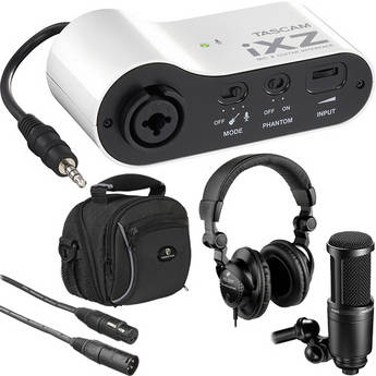 Tascam Tascam iXZ Mini Recording Package