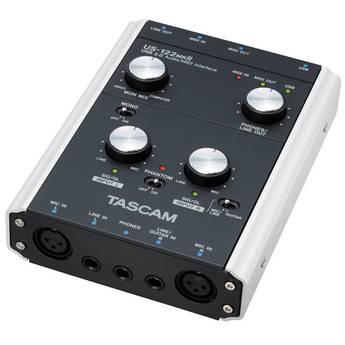 Tascam US-122MKII - USB 2.0 Computer Audio Interface