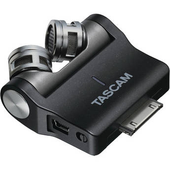 Tascam iM2X - X/Y Stereo Condenser Microphone Attachment for iOS Devices