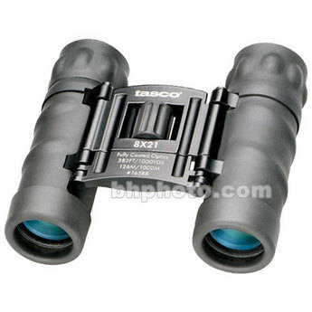 Tasco 8x21 Essentials Binocular (Black)