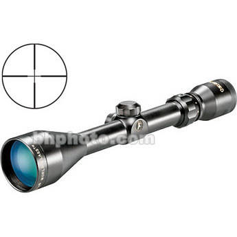 Tasco 3-9x50 World Class Riflescope - Black