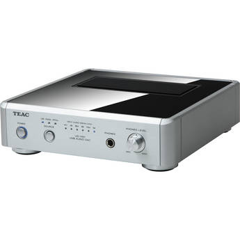 Teac UDH01S USB Audio D/A Converter (Silver)