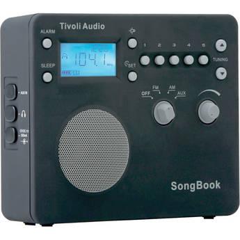 Tivoli SongBook AM/FM Travel Radio (Black)