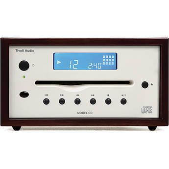 Tivoli Platinum Collection Model CD Player (Dark Walnut/Beige)