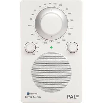 Tivoli PAL BT Bluetooth Portable Radio (Glossy White / White)