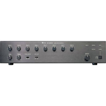 Toa Electronics A-912MK2 120W 8-Channel Modular Mixer/Amplifier