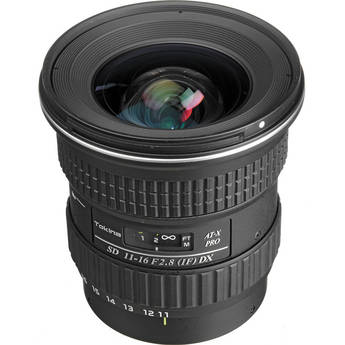Tokina 11-16mm f/2.8 AT-X 116 Pro DX Autofocus Lens For Sony Alpha DSLRs