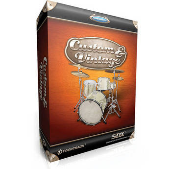 Toontrack Custom and Vintage SDX - Percussion Expansion Pack