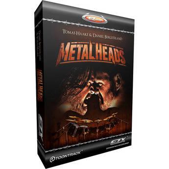 Toontrack Metalheads EZX Digital Drum Kit Software