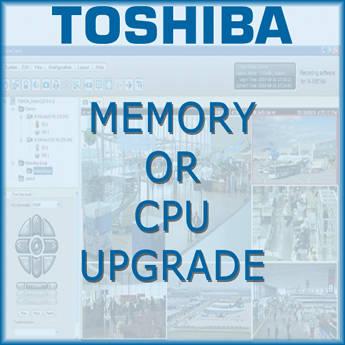 Toshiba CPU Upgrade Option