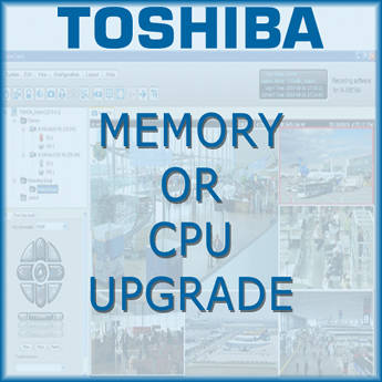 Toshiba Performance Pack Upgrade CPU/Memory (Field)
