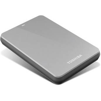Toshiba 1TB Canvio 3.0 Portable Hard Drive (Silver)