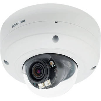 Toshiba IK-WR14A IP Vandal Dome Camera with 1080p HD Resolution