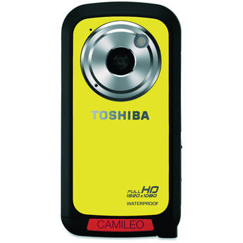 Toshiba Camileo BW10 HD Waterproof Camcorder (Yellow)