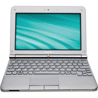"""Toshiba mini NB205-N330/WH 10.1"""" Netbook Computer (Frost White)"""