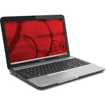 "Toshiba Satellite L855-S5240 15.6"" Notebook Computer (Mercury Silver)"