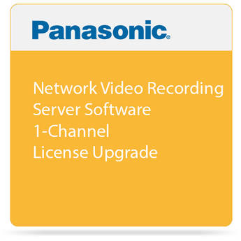Toshiba Network Video Recording Server Software 1-Channel License Upgrade