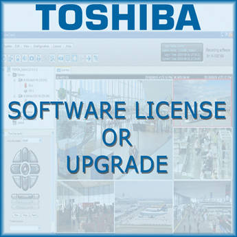 Toshiba Network Video Recording Server Software License (4-Channel)